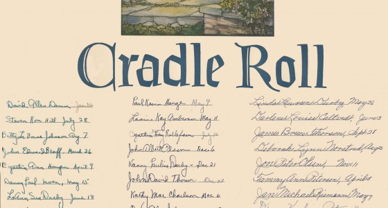 Cradle Roll 50s 60s at West Prairie Lutheran Church