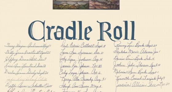 Cradle Roll 60s 70s