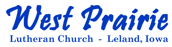 West Prairie Lutheran Church Logo