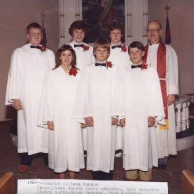 Confirmation March 27, 1983