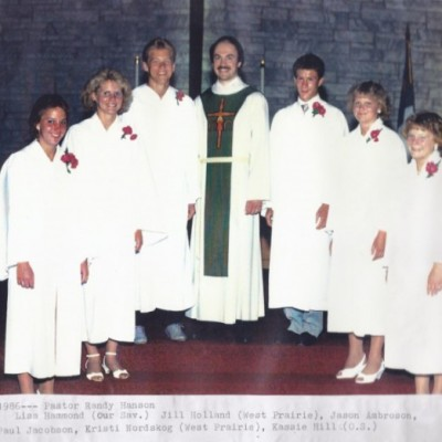 Confirmation June 29, 1986