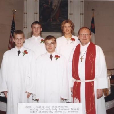 Confirmation April 29, 2001
