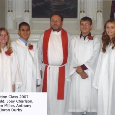 Confirmation October 28, 2007